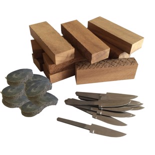 DIY knife kit 7 - 10 knives