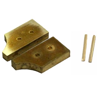 Front panel bolster for Idaho - Brass