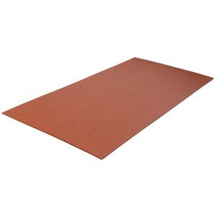 Fiberboard - Brown - 0.8x125x250 mm