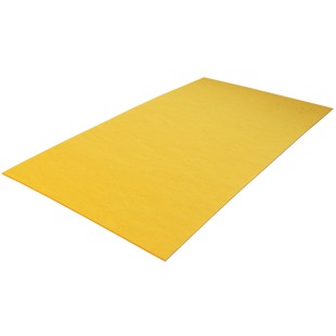 Fiberboard - Yellow - 0.8x125x250 mm