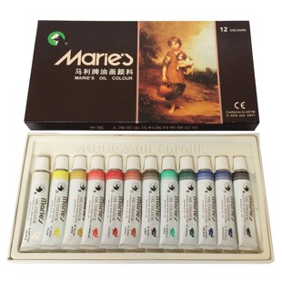 Oil paint - 12 pcs.
