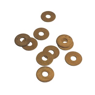 Bronze Disc - 11.5/4.8 mm - 10 pcs