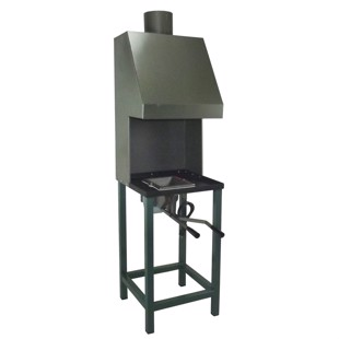 Coal Forge with Chimney - 230V