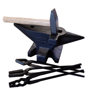 Forge- and Anvil set